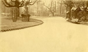 France Lille Jardin Vauban Public Garden Old Photo Capin 1933