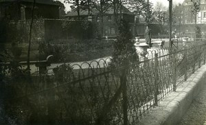 France Lille Square du Reduit Garden Old Photo Capin 1933