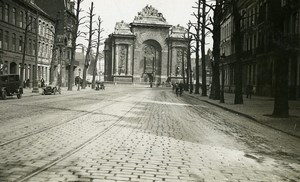 France Lille Porte de Paris City Gate Old Photo Capin 1933