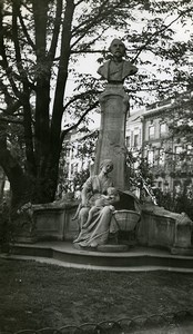 France Lille Statue le P'tit Quinquin Desrousseaux Old Photo Capin 1933