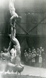 France Lille at the Circus of the Trade Fair Cirque Old Photo Capin 1934