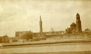 France Lille Noble Tour, Belfry Beffroi & St Sauveur Church Old Photo Capin 1934