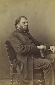 Royaume Uni London Portrait Masculin Favoris Mode Ancienne Photo CDV Faulkner 1870