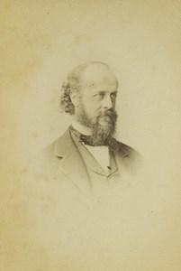 United Kingdom London Man Portrait Beard Fashion CDV Photo Window & Grove 1870