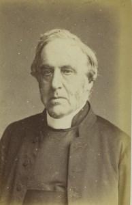 London Irish Dublin Archbishop Richard Trench Old CDV Photo Maull 1870