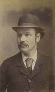 United Kingdom Blandford Man Portrait Fashion Old CDV Photo Butt 1870
