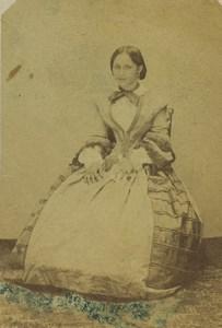 France Neuilly Séraphine jeune romaine Ancienne Photo CDV 1892