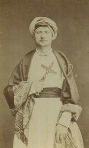 France Paris Religion Priest Portrait Pondichery Old CDV Photo Saint Edme 1870's