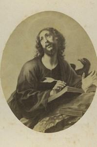 Germany Art Museum Carlo Dolci John the Evangelist Old CDV Photo 1870