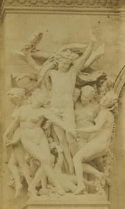 France Paris the Dance by Carpeaux Old CDV Photo Raudnitz 1870