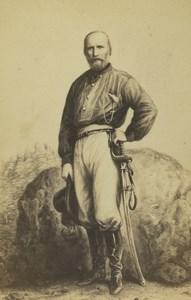 France Paris Garibaldi Old CDV Photo Desmaisons 1860