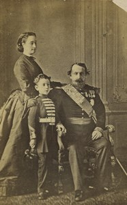 France Paris Napoleon Imperial Family Second Empire Old CDV Photo 1860