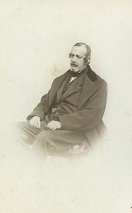 France Paris Edouard de Thouvenel Diplomat Second Empire Old CDV Photo 1860