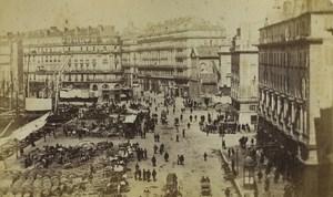 France Marseille quai de la Fraternité Ancienne Photo Neurdein 1870's