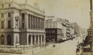 France Marseille rue Canebiere Ancienne Photo Neurdein 1870's