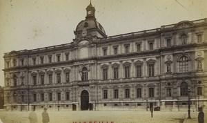 France Marseille la Préfecture Ancienne Photo Neurdein 1870's