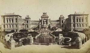 France Marseille Palais Longchamp Musee des Beaux-Arts Ancienne Photo Neurdein 1870's