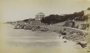 France Marseille route de la Corniche Ancienne Photo Neurdein 1870's
