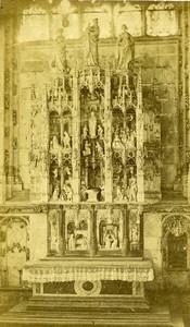 France Lyon cathedral? Old CDV Photo Joguet 1870