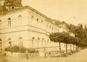 France Bagneres de Bigorre Spa town Old Andrieu CDV Photo 1870's