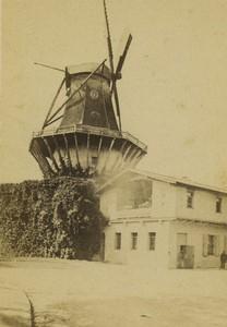 Allemagne Potsdam moulin a vent de Sanssouci ancienne Photo CDV 1870
