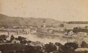 Austria Linz panorama Old CDV Photo Huber 1870's