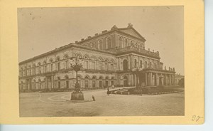Hannover Hanover Theater Germany Architecture Old Anonymous CDV Photo 1870