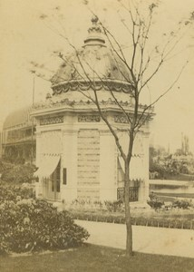 Empress Pavillion 1867 Paris World's Fair Leon & Levy Old CDV Photo