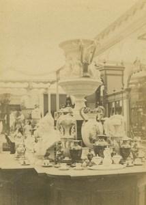 Prussian Porcelaine 1867 Paris World's Fair Leon & Levy Old CDV Photo