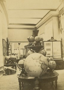 Geography Exhibit Prussia 1867 Paris World's Fair Leon & Levy Old CDV Photo