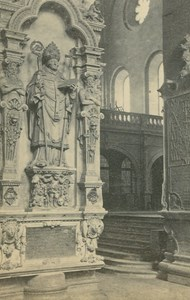 Church Cathedral Interior Mainz ? Germany Ad Braun old CDV Photo 1860