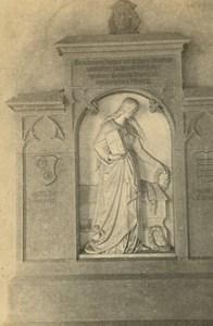 Church Cathedral Interior Mainz ? Germany Ad Braun old CDV Photo 1860