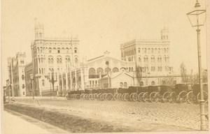 Austria Vienna Wien Nordbahnhof Old MIETHKE & WAWRA CDV Photo 1860's
