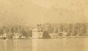 Germany Schönau am Königsee Kirche St. Bartholomä old Walch CDV Photo 1860's