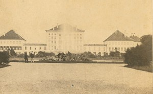 Germany Munich Schloss Nymphenburg Castle Christian Koenig CDV Photo 1860's