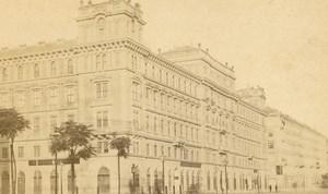 Austria Vienna Wien Architecture Paper Shop Prater Steuer CDV Photo 1860's