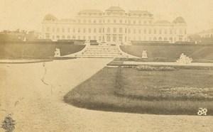 Austria Vienna Wien Architecture Upper Belvedere Steuer CDV Photo 1860's