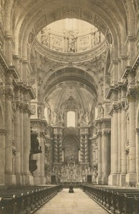 Germany Munich Theatine Church Munchen old Christian Koenig CDV Photo 1860's