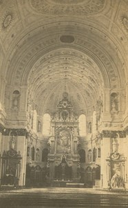 Germany Munich Munchen St. Michael High Altar Christian Koenig CDV Photo 1860's