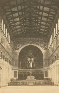 Germany Munich St. Boniface's Abbey Munchen old Christian Koenig CDV Photo 1860s
