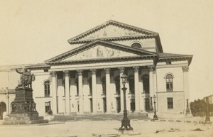 Germany Munich Munchen Nationaltheater Theater old Reulbach CDV Photo 1870