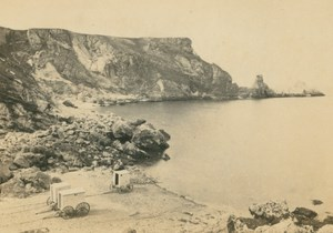 England near Torquay Anstey's Code Beach old Francis Bedford CDV Photo 1860's