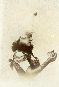 France Saumur Woman Fashion Old Mignonette Voelcker Photo 1900