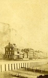 United Kingdom Dover Panorama Old CDV Photo Clark 1870