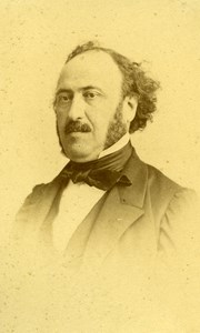 France Paris Philosopher Political Jules Simon Old CDV Reutlinger Photo 1870