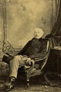 Admiral John Edward Walcott Old CDV Photo 1860's