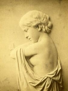 Erastus Dow Palmer Marbles Immortality Old Duchochois & Klauser CDV Photo 1860