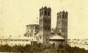 Germany Cologne St. Gereon's Basilica Köln Old Schönscheidt CDV Photo 1860's
