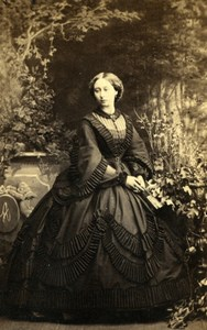 Princess Alice of the United Kingdom Old Camille Silvy CDV Photo 1860's