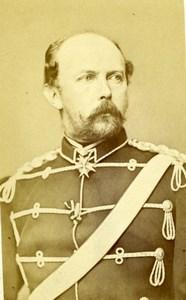 Prince Friedrich Karl of Prussia Photographische Gesellschaft CDV Photo 1860's